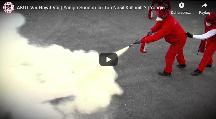 Yangın Söndürücü Tüp Nasıl Kullanılır? | Yangın Söndürücü Çeşitleri Nelerdir? – Video Haber